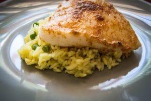 fish wit rice